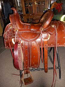 Danny Stinson Western Saddle
